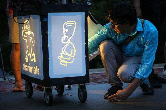 Optoma Lights Up Dranimate Brooklyn